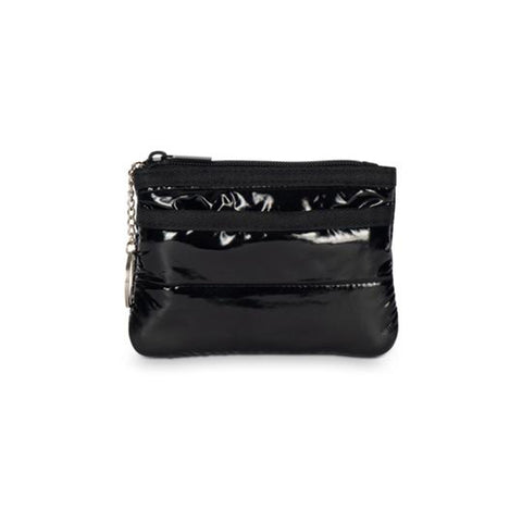 Haute Shore Max Noir Card Case. Meet you new on-the-go companion! The Haute Shore Max Noir Card Case is the perfect accessory to throw in your favorite bag or crossbody. Keep your credit cards and ID secure in this cute little zipper pouch.