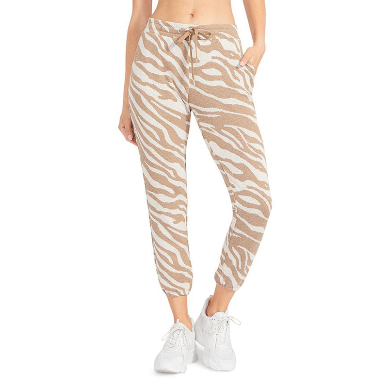 BB Dakota Eye of The Tiger Jogger. Channel your inner cat that can't resist a lazy day of lounging in these tiger-print joggers! Featuring a 27