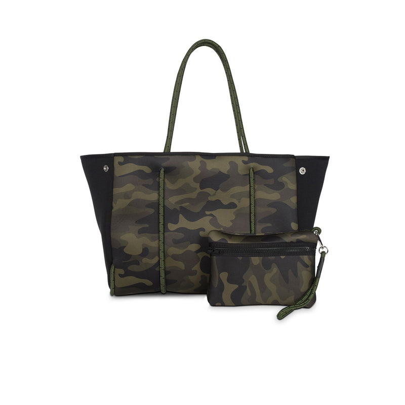 Haute Shore Greyson Revolve. The new Haute Shore Greyson Revolve Tote is what camo dreams are made of! This  neoprene tote is the perfect blend of style and functionality.