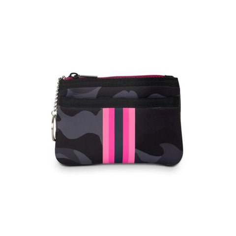 Haute Shore Max Epic Card Case. Meet you new on-the-go companion! The Haute Shore Max Epic Card Case is the perfect accessory to throw in your favorite bag or crossbody. Keep your credit cards and ID secure in this cute little zipper pouch.