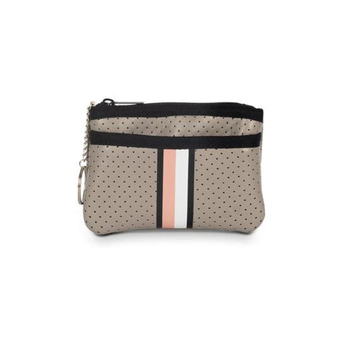 Haute Shore Max Posh Card Case. Meet you new on-the-go companion! The Haute Shore Max Posh Card Case is the perfect accessory to throw in your favorite bag or crossbody. Keep your credit cards and ID secure in this cute little zipper pouch.