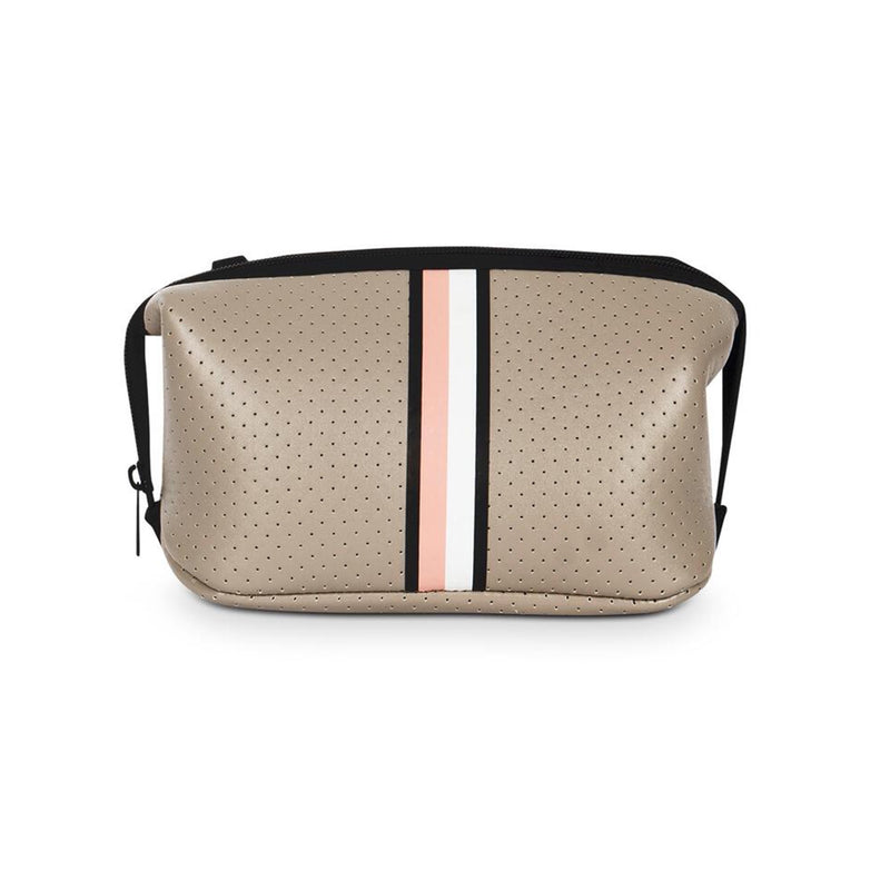 Haute Shore Erin Posh Cosmetic Case. This chic and durable Haute Shore Erin Posh Cosmetic Case holds all the makeup essentials! Perfect for everyday use, and can be thrown into any bag for on-the-go necessities.