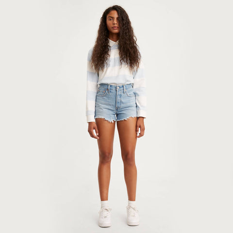 Levi 501 Original Denim Short. Our 501® Original Fit Jeans' alter ego — but shorter and a little more casual. Perfectly timeless and effortlessly cool, our 501® Original Short is the ultimate style essential that defines your waist and hugs you in all the right places.