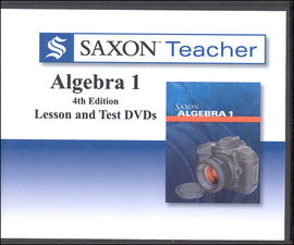 Saxon Teacher Algebra 1, Fourth Edition on CD-ROM