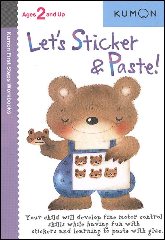 Let's Sticker & Paste! - Kumon First Steps Workbooks