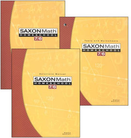 Saxon Math 76 Kit, 4th Edition
