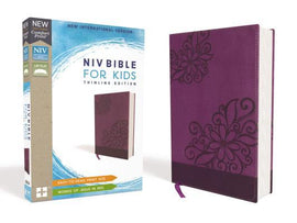 NIV Bible for Kids, Leathersoft, Violet Purple