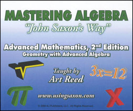 Mastering Algebra - Advanced Mathematics: Geometry with Advanced Algebra, 2nd Edition DVD