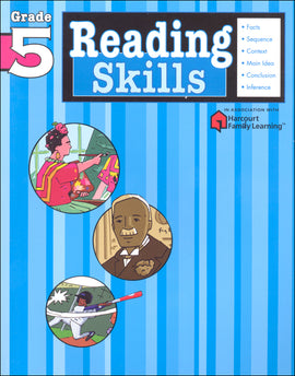 Reading Skills: Grade 5 (Flash Kids Harcourt Family Learning)