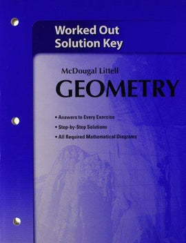 McDougal Littell Geometry Worked-Out Solutions Key