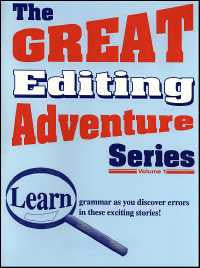 Great Editing Adventure Series Teacher's Guide Volume I