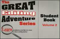 Great Editing Adventure Series Volume 2 Student Book