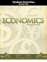 BJU Press Economics Activities Teacher's Edition (2nd ed)