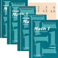 Saxon Math 1 Kit