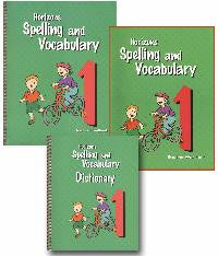 Horizons Spelling and Vocabulary  1st Grade Set