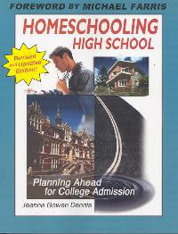 Homeschooling High School, Planning Ahead for College Admission