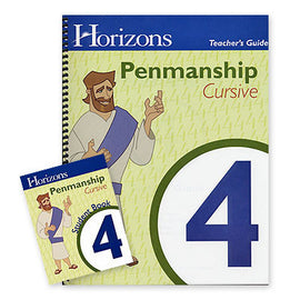 Horizons 4th Grade Penmanship Set