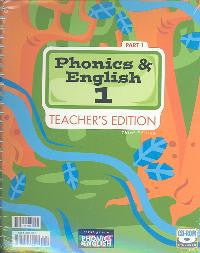 BJU Press Phonics and English 1 T/E, 3rd ed