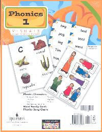 BJU Press Phonics 1 Visuals Packet, 3rd ed
