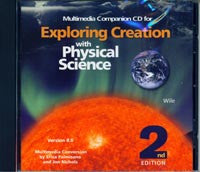 Apologia Exploring Creation with Physical Science Companion CD 2nd Edition