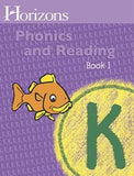 Horizons Phonics and Reading Level K Student Workbook 1