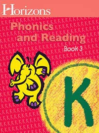 Horizons Phonics and Reading Level K Student Workbook 3
