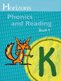 Horizons Phonics and Reading Level K Student Workbook 4