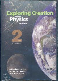 Apologia Exploring Creation with Physics 2nd Ed CD (full text plus solutions)