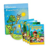 Horizons Preschool Curriculum & Multimedia Set