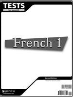 BJU Press French 1 Test 2ed