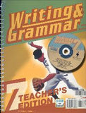 BJU Press Writing & Grammar 7 Teacher's Edition Set, 3rd Ed.