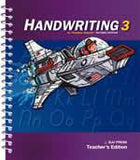 BJU Press Handwriting 3 Teacher's Edition (2nd ed.)