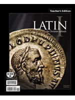 BJU Press Latin 1 Teacher's Edition 2ed