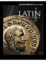 BJU Press Latin 1 Student Activities Teacher's Edition 2ed
