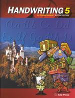 BJU Press Handwriting 5 Student Worktext (2nd ed.)
