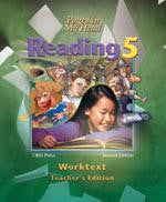 BJU Press Reading 5, 2nd ed. Worktext Teacher's edition