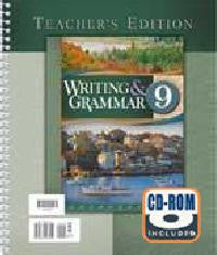 BJU Press Writing & Grammar 9 Teacher's Edition (3rd ed.)