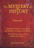 Mystery of History Volume 3 Companion Guide CD-ROM (Single Family License)