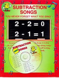 Subtraction Songs CD (Audio Memory)
