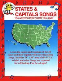 States & Capitals Songs CD (Audio Memory)