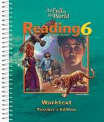 BJU Press Reading 6 Worktext Teacher's Edition