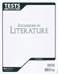 BJU Press Excursions in Literature Test (3ed)