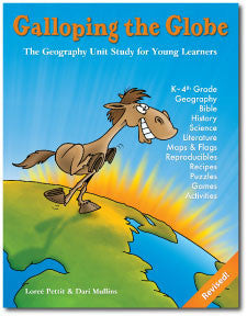 Galloping the Globe 3rd edition with CD