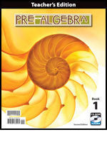 BJU Press Pre-Algebra Teacher's Edition (2nd ed)