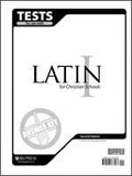 BJU Press Latin 1 Test Answer key 2ed