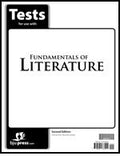BJU Press Fundamentals of Literature Tests (2nd ed)