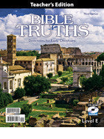 BJU Press Bible Truths Level E Teacher's Edition, 3rd ed.