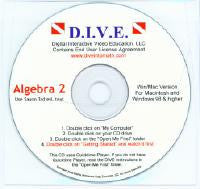 D.I.V.E. CD's - Saxon Algebra 2 (2nd and 3rd Edition)