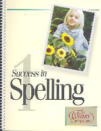 Weaver Success In Spelling Level 1 (Grade 2)
