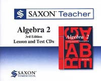 Saxon Teacher for Algebra 2, Third Edition on CD-ROM